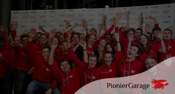 Team der Pioniergarage aus Karlsruhe